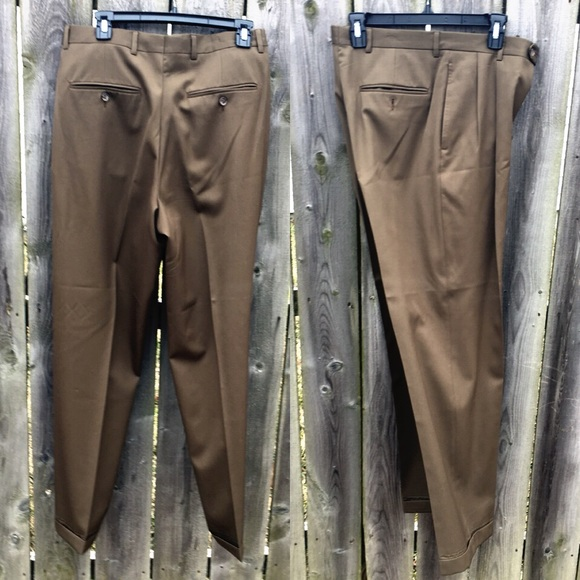 Austin Reed Pants Mens Brown Dress Slacks Euc Poshmark
